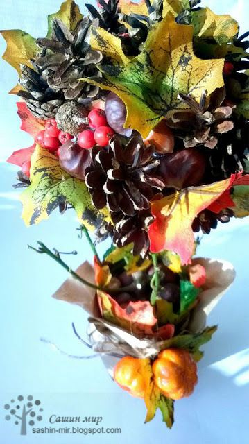 Красивый осенний декор в интерьере  100+ фото