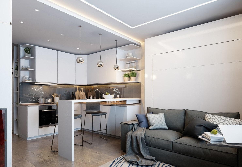 Кухня 15 кв. м. - 115 фото идей грамотного дизайна и особенности его выполнения