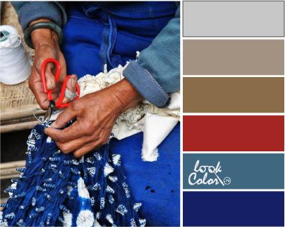 Индиго синий цвет значение, психология и как она формируется