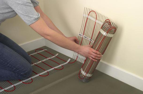 Укладка теплого водяного пола под плитку: пошаговая инструкция