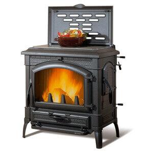 печка для дачи на дровах длительного горения