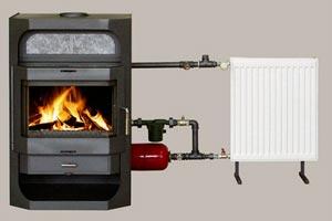 Дровяная русская печь с водяным отоплением для дома: принцип работы, как переделать старую конструкцию