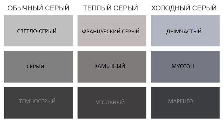просто черный цвет