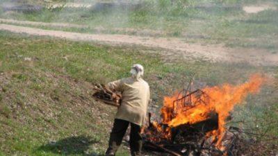 Сжигание мусора на участке | частный дом. сад и огород