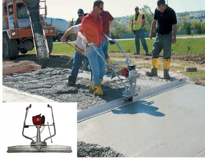 как замесить бетон пропорции