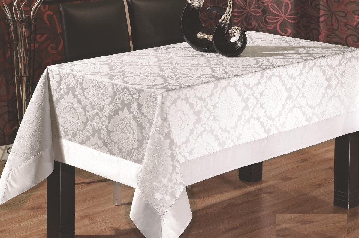 Скатерть или клеенка на стол для кухни на тканевой основе
