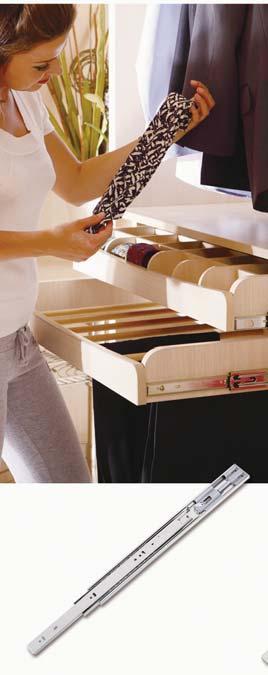 как снять ящики из шкафа на рельсах