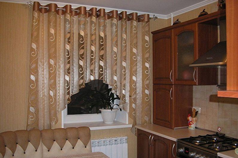 Сшить шторы на кухню своими руками: 100 фото примеров пошива красивых и практичных штор или гардин