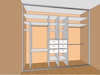 как спроектировать шкаф