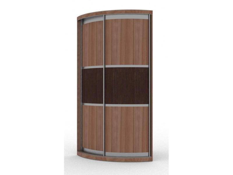 Радиусный шкаф-купе внутри (с фото и размерами)