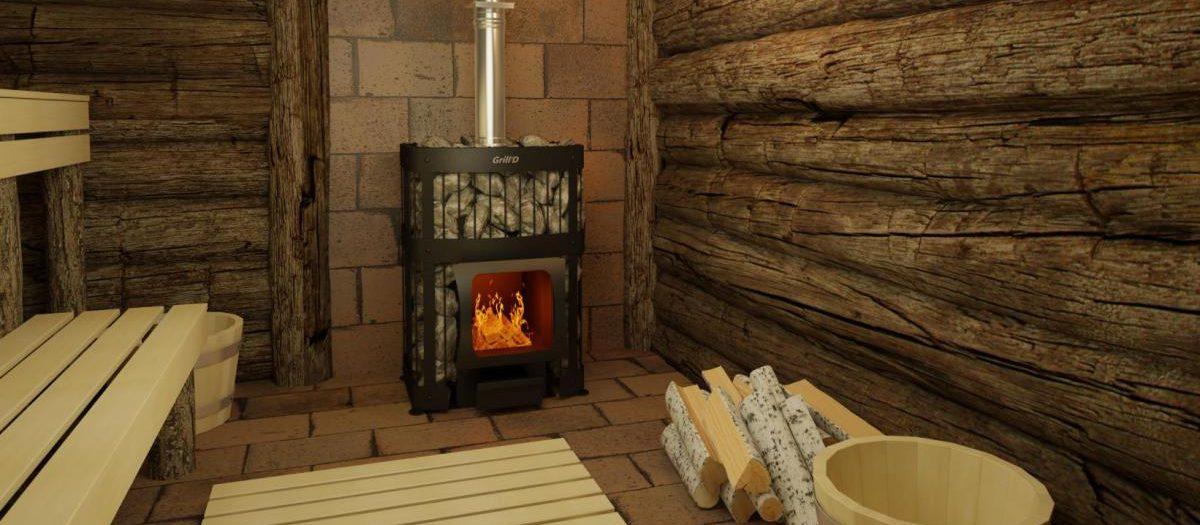 выбор печи для бани на дровах