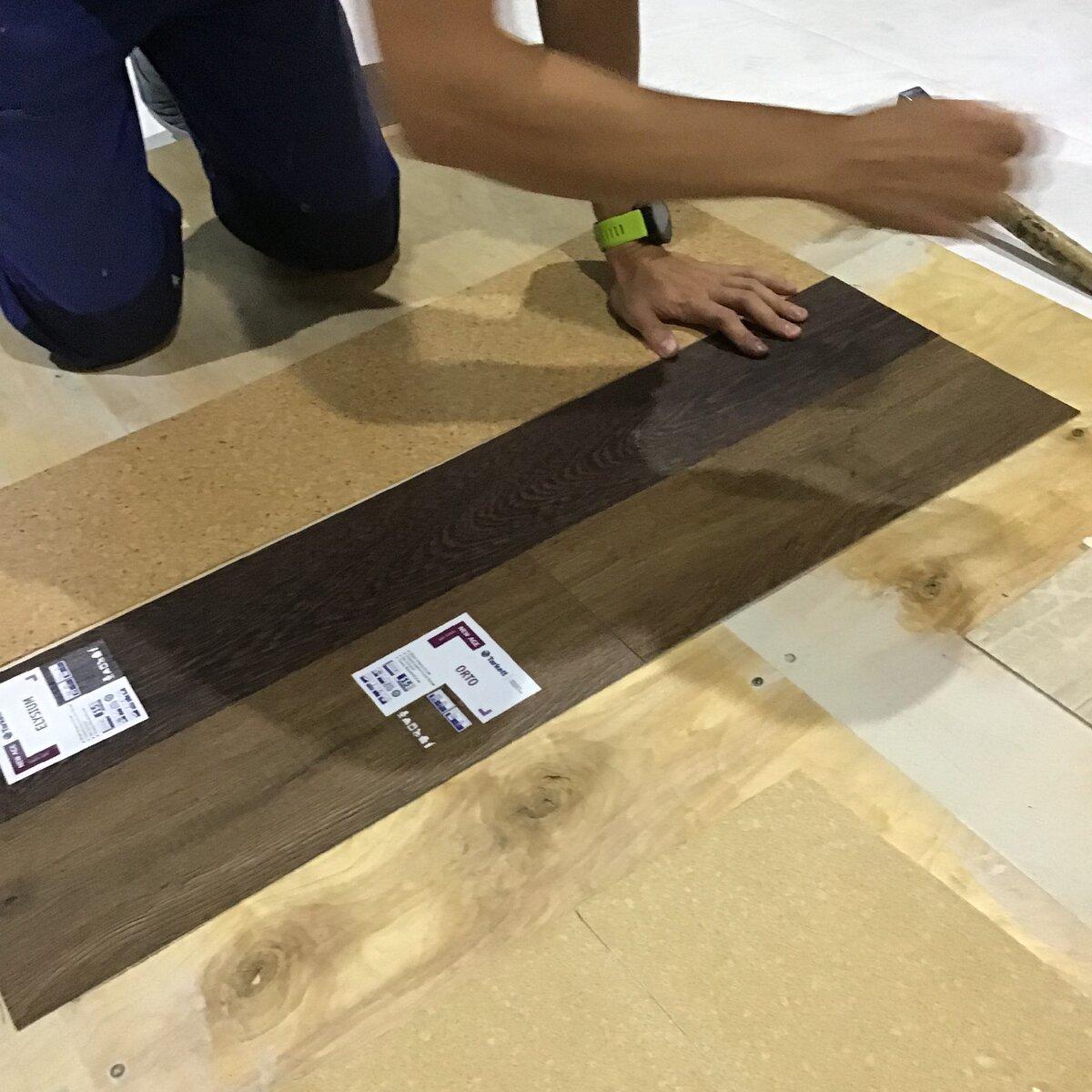 Укладка пвх плитки на пол своими руками: советы профессионалов