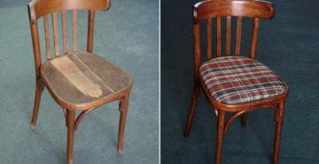 Как перетянуть стул своими руками: видео, мастер-класс, фото