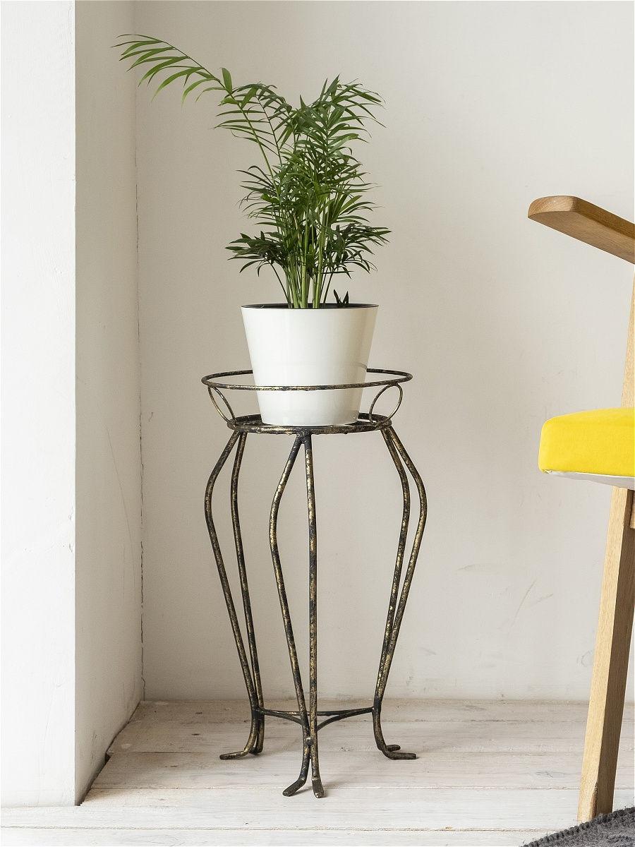 Подставка для цветов (43 фото): особенности стойки на колесиках для комнатных растений. как выбрать высокую цветочницу из ротанга?