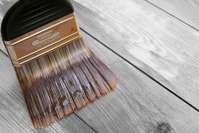Как и чем покрасить деревянный стол своими руками – разбор лучших вариантов