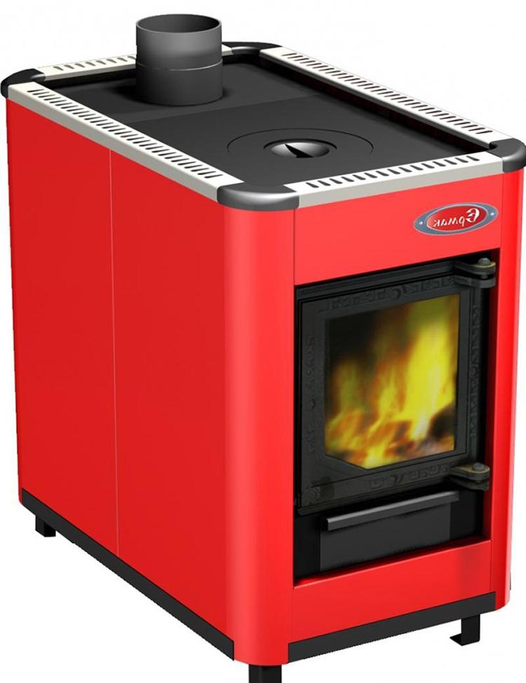 печь для отопления дома на дровах