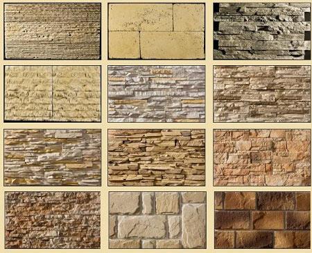 Декоративный камень в интерьере: 85 фото-идей