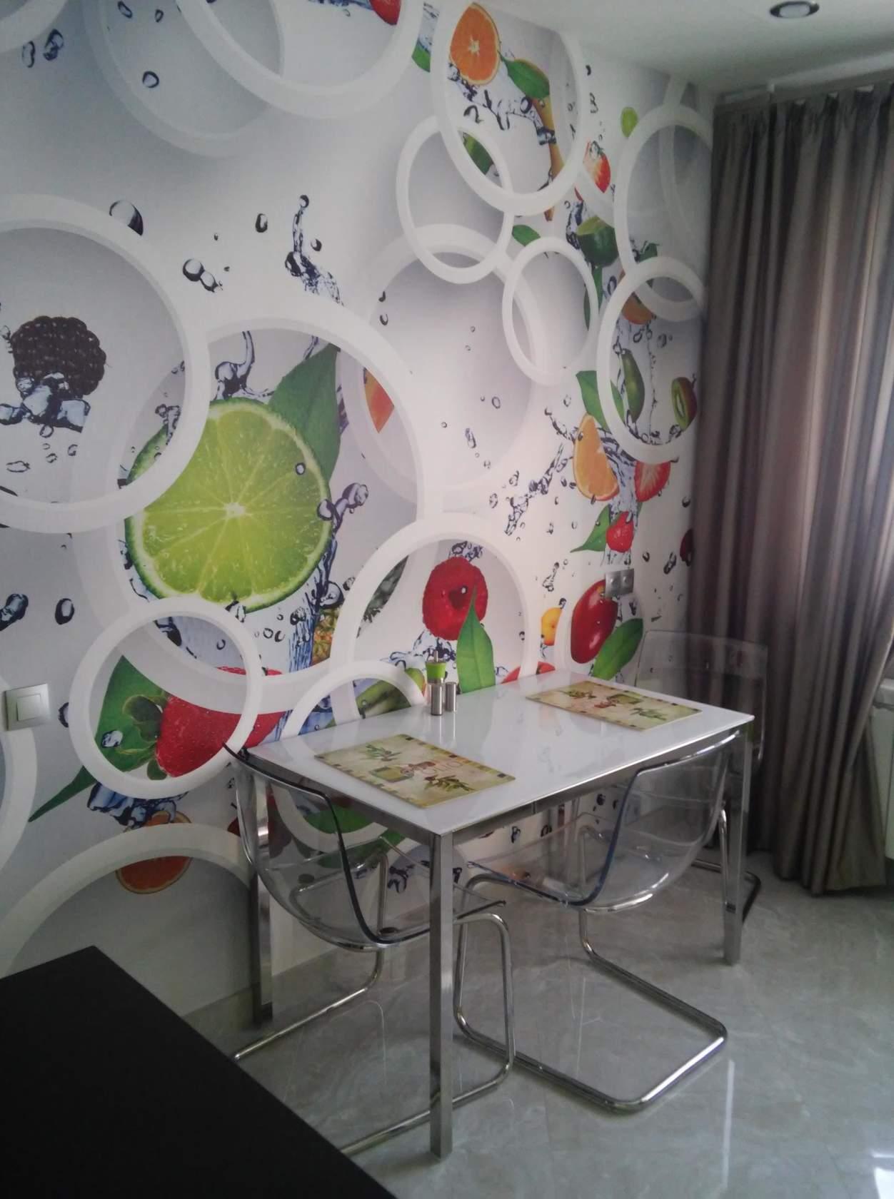 Выбираем модульные картины для интерьера кухни