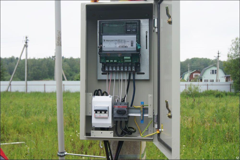 подключение электричества к участку московская область