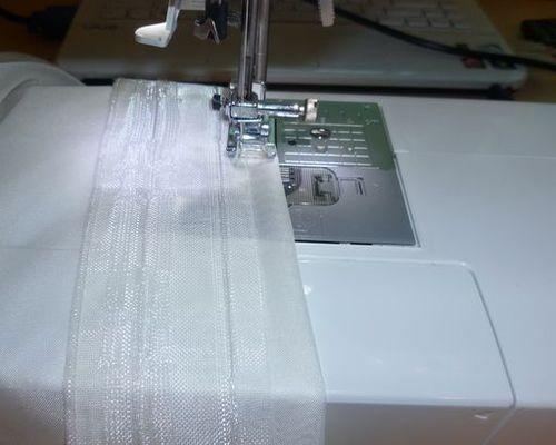 Пошаговая инструкция по пошиву шторной ленты на тюль