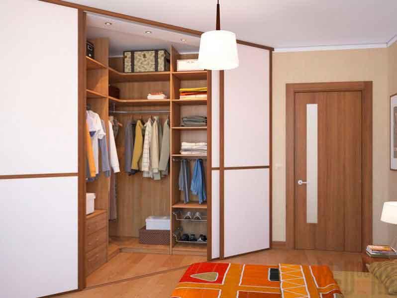 варианты гардеробных комнат