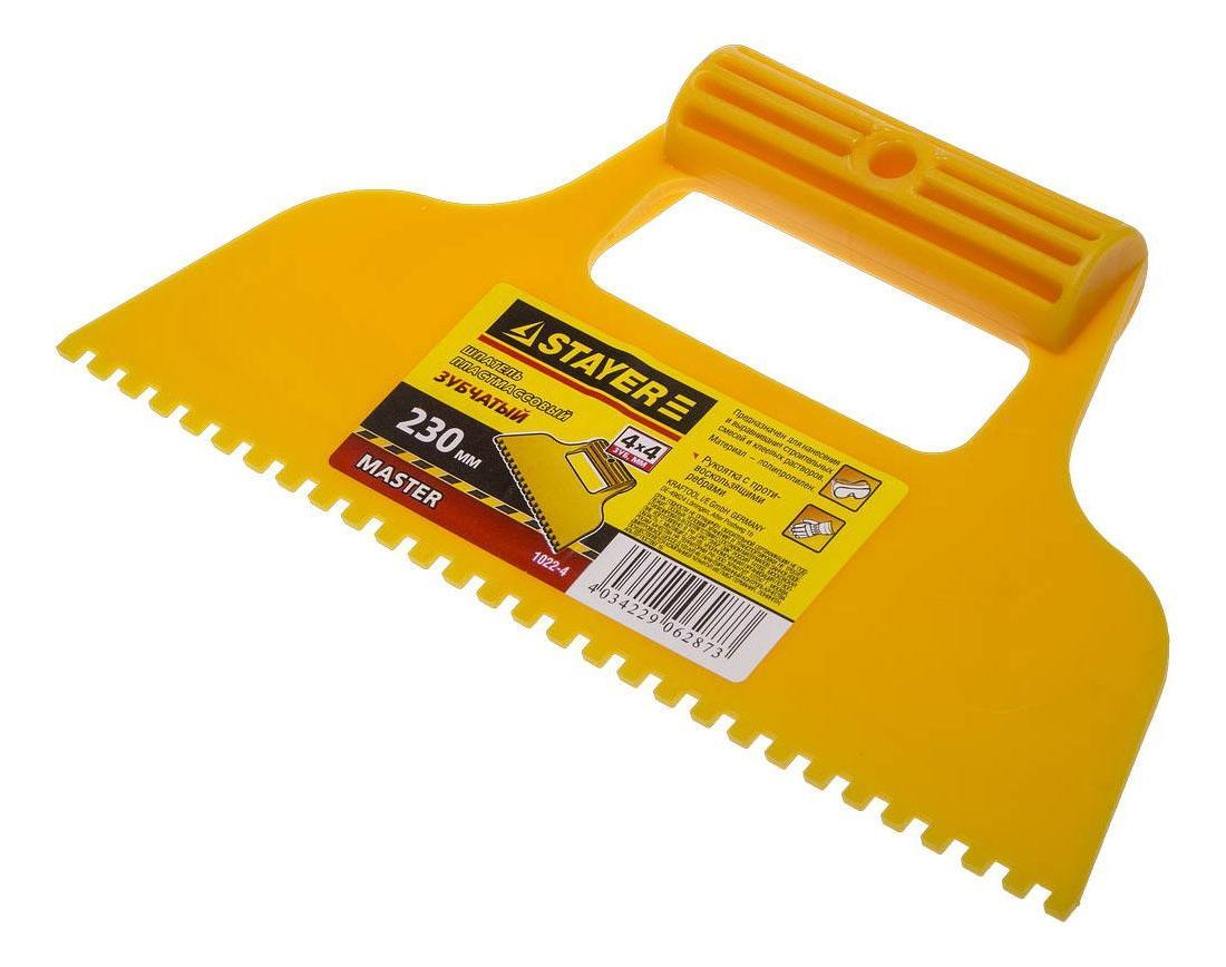 Какой шпатель нужен для укладки плитки на стены и пол
