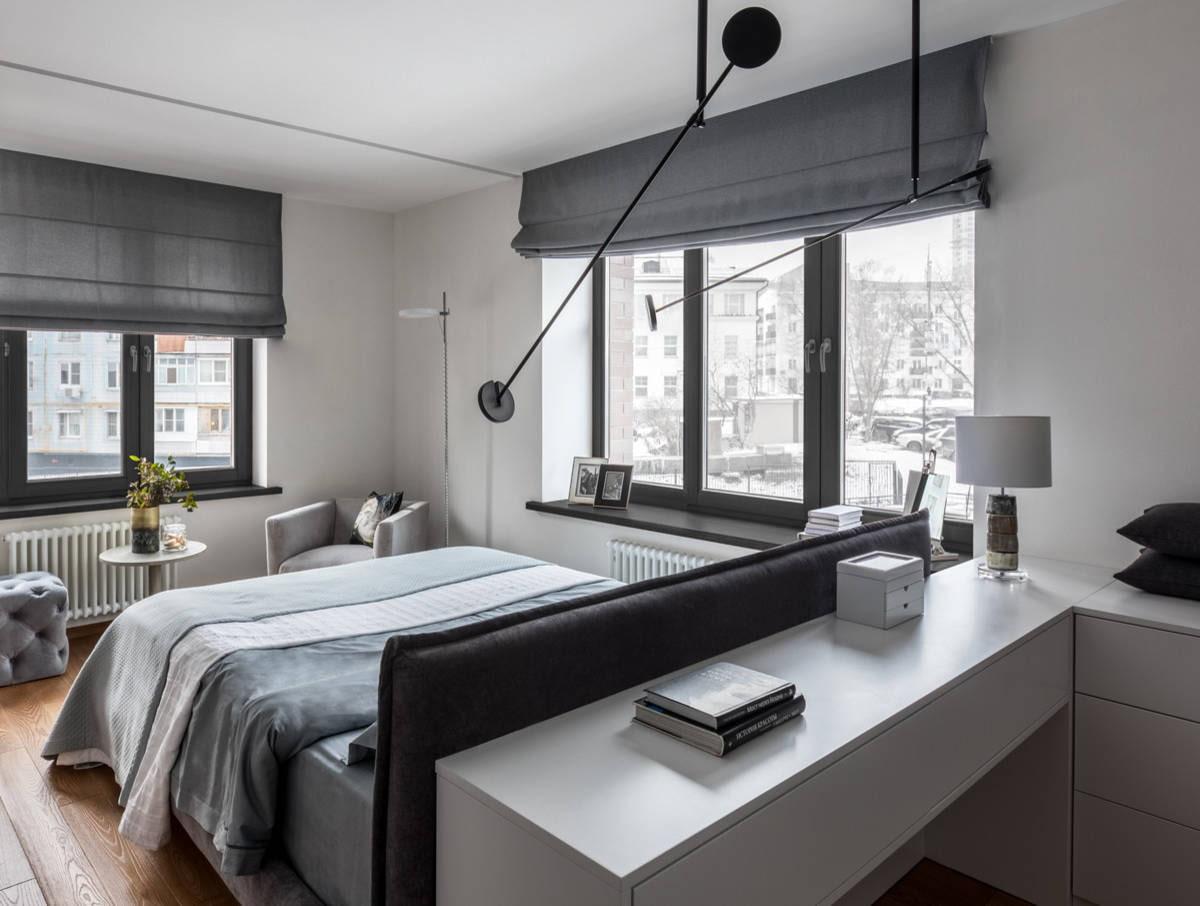 Какие выбрать шторы на два окна: примеры в интерьере +30 фото