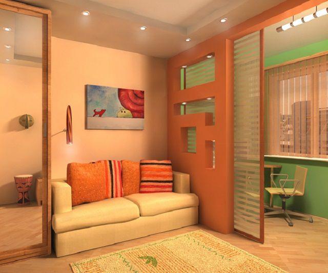 100 лучших идей дизайна: стеллаж-перегородка для комнаты на фото