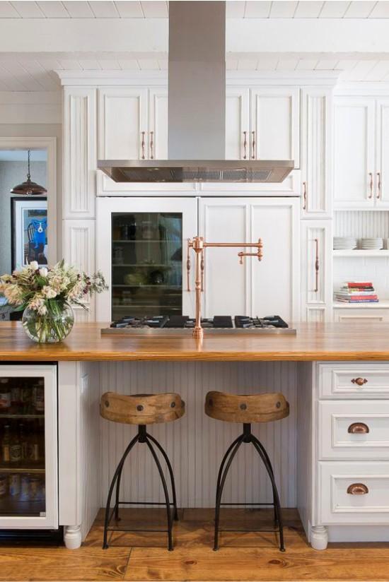 Кухня в классическом стиле: реальные фото, цветовое сочетание, маленькие и большие кухни