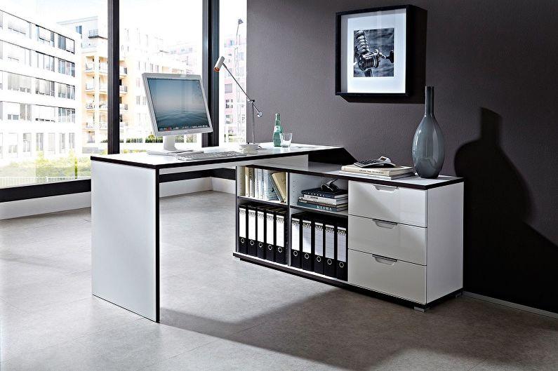 Угловой стол на кухню (15 фото): варианты конструкций и форм кухонного столика в углу