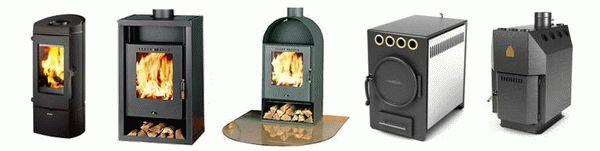 Обзор печей для отопления дома