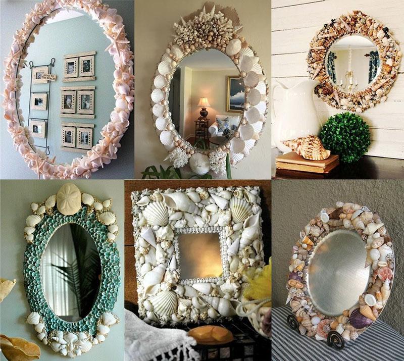 как сделать рамку для зеркала