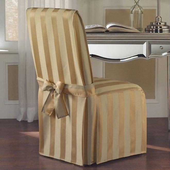 Как сшить чехол на стул, выкройки, этапы работы, рекомендации