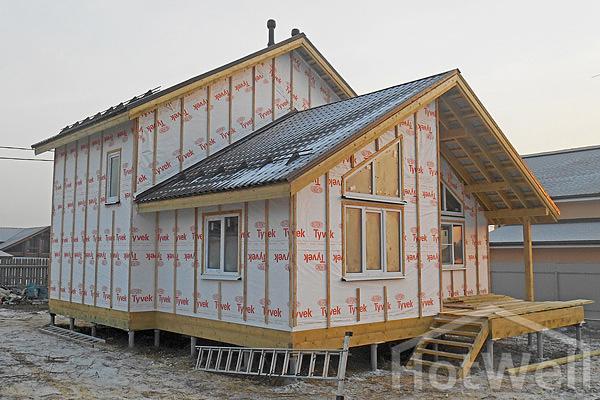 домик из сип панелей