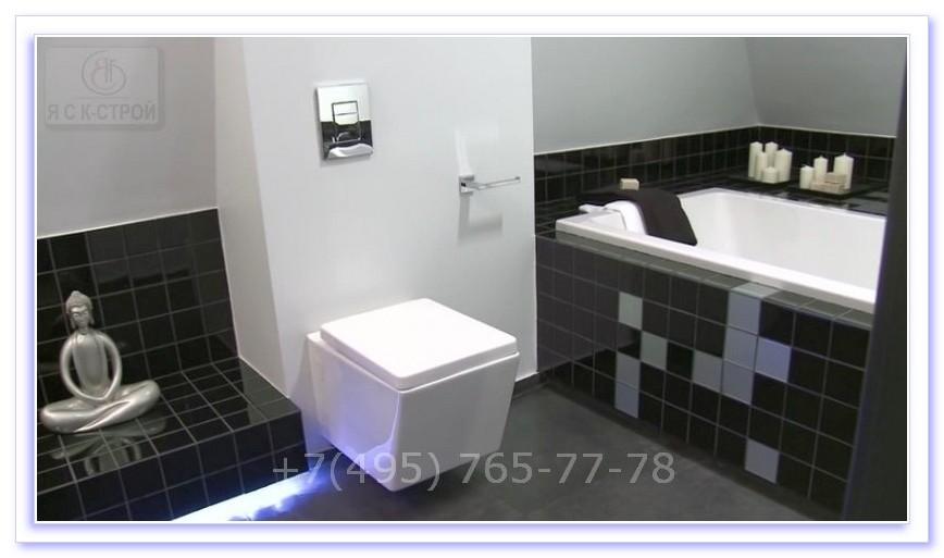 ремонт ванной комнаты в квартире