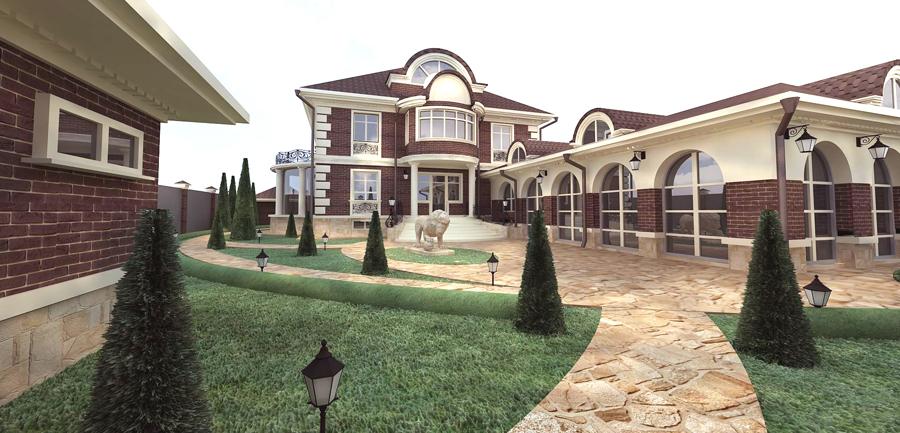 фото коттеджей и загородных домов