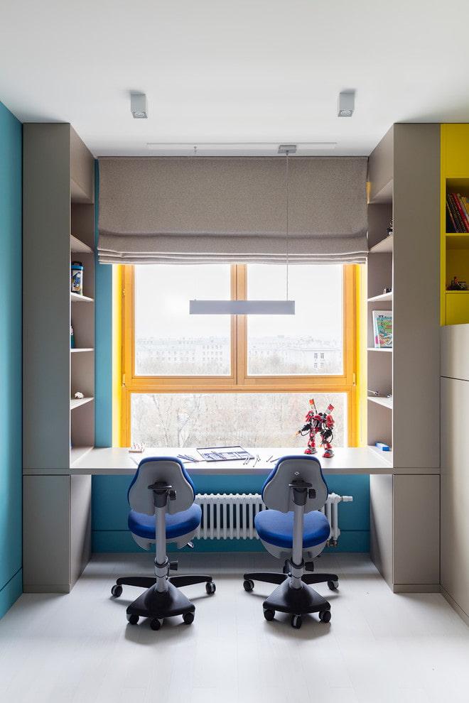 Шкаф вокруг окна: идеи, варианты расположения и виды конструкций