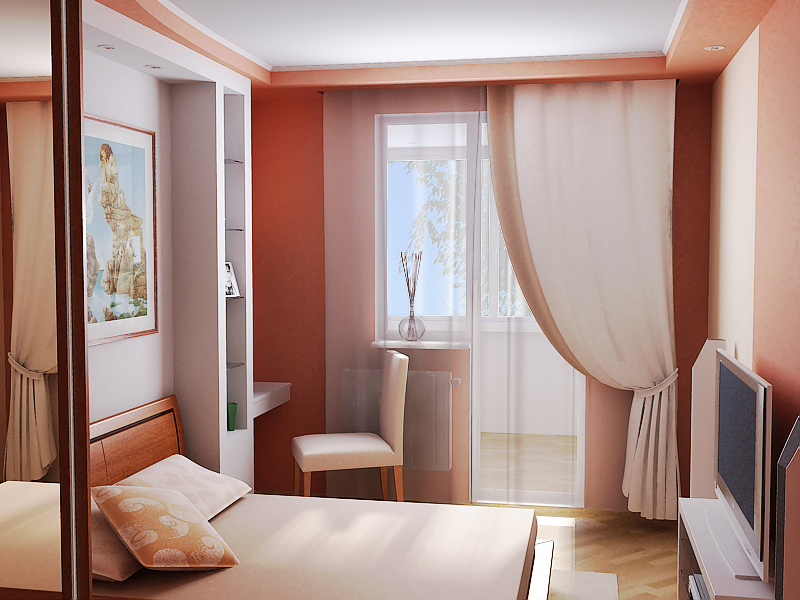 Шторы в маленькую спальню (55 фото): дизайн штор для небольшого окна в белой и других спальнях, варианты оформления окна занавесками и тюлем, интересные новинки
