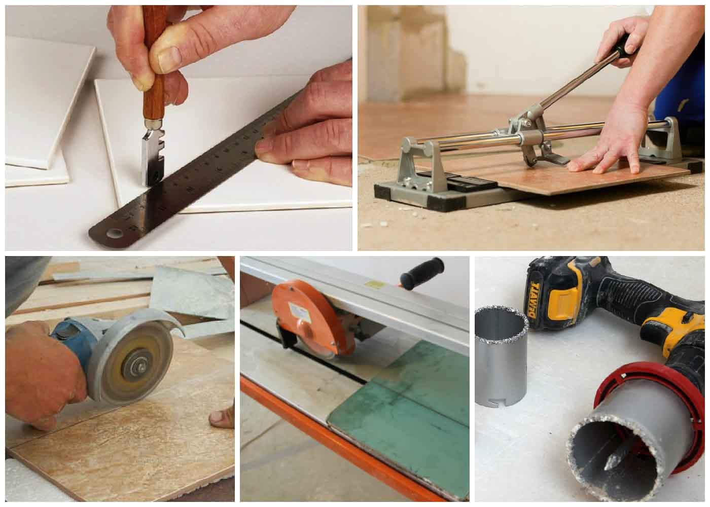 Как резать плитку без плиткореза » изобретения и самоделки
