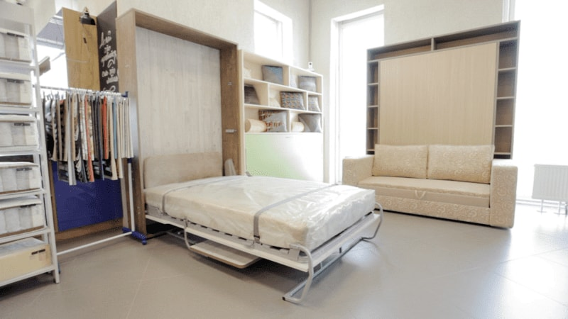 компактная мебель трансформер для маленькой квартиры