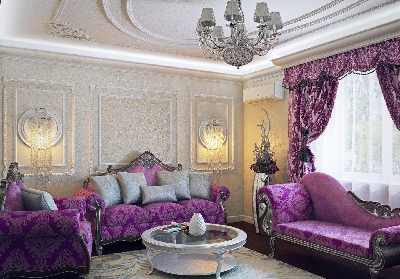 Многоликая эмоциональность фиолетовой спальни - 83 фото примера