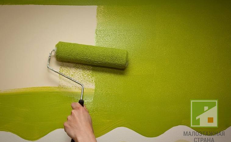 какая краска для стен лучше