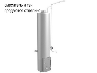 колонка водогрейная дровяная