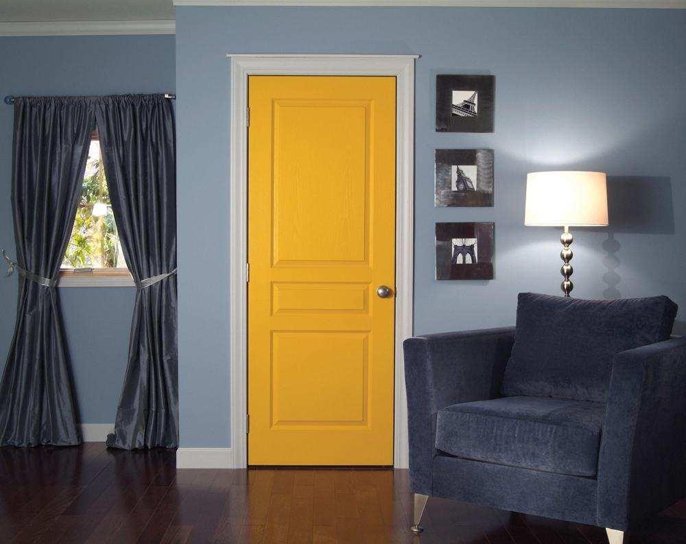 цвет дверей межкомнатных к чему подбирают