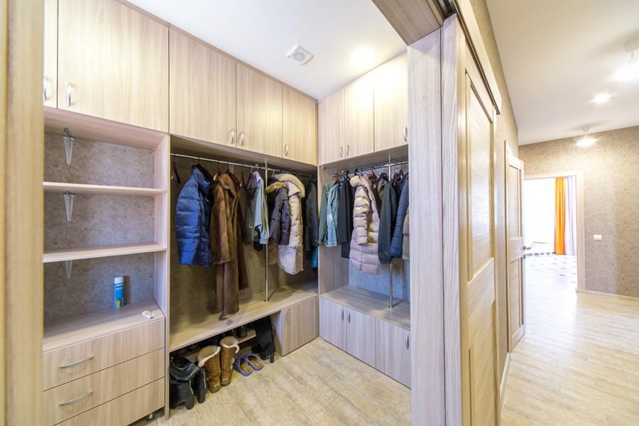 Разработка дизайн-проекта гардеробной комнаты, фото лучших планировок