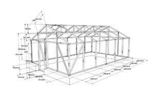 Теплица из бруса (39 фото): как построить конструкцию своими руками