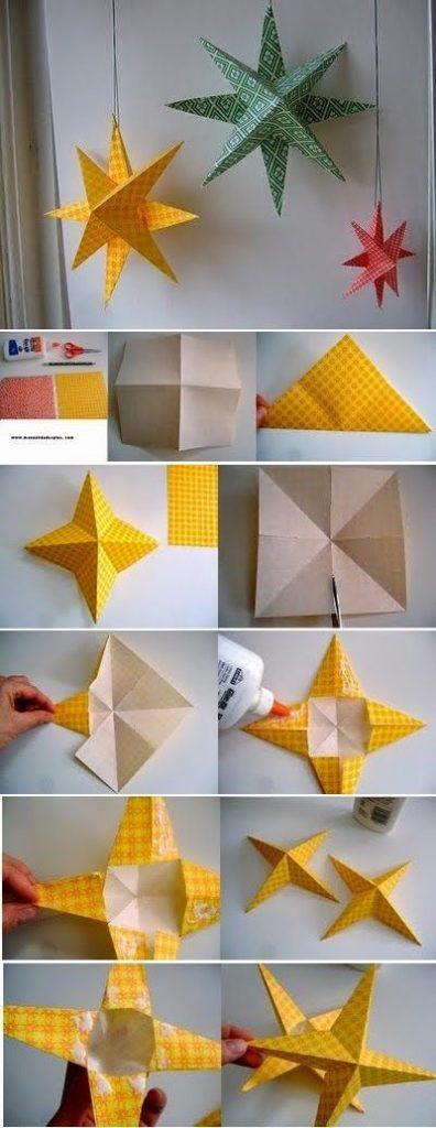 как сделать бумажные поделки