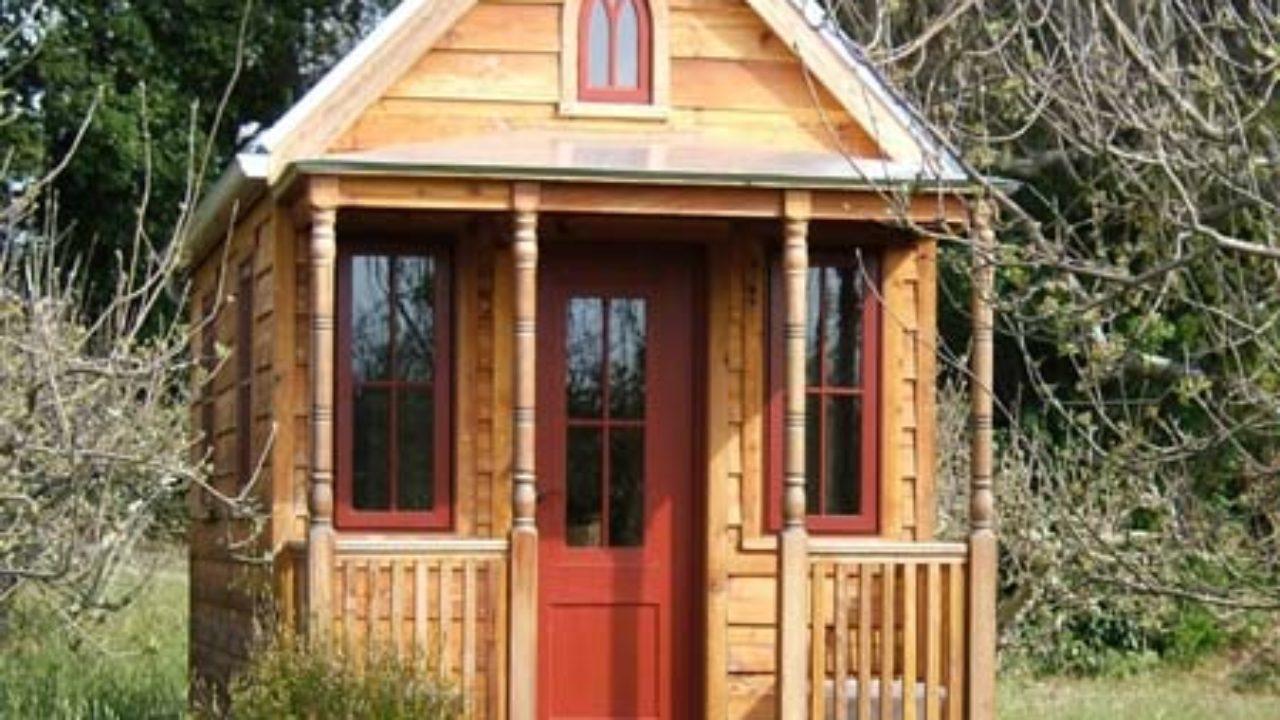 Как недорого построить садовый домик эконом класса под ключ?