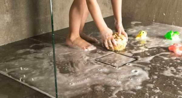 Как выбирать и монтировать трап для душа в полу под плитку