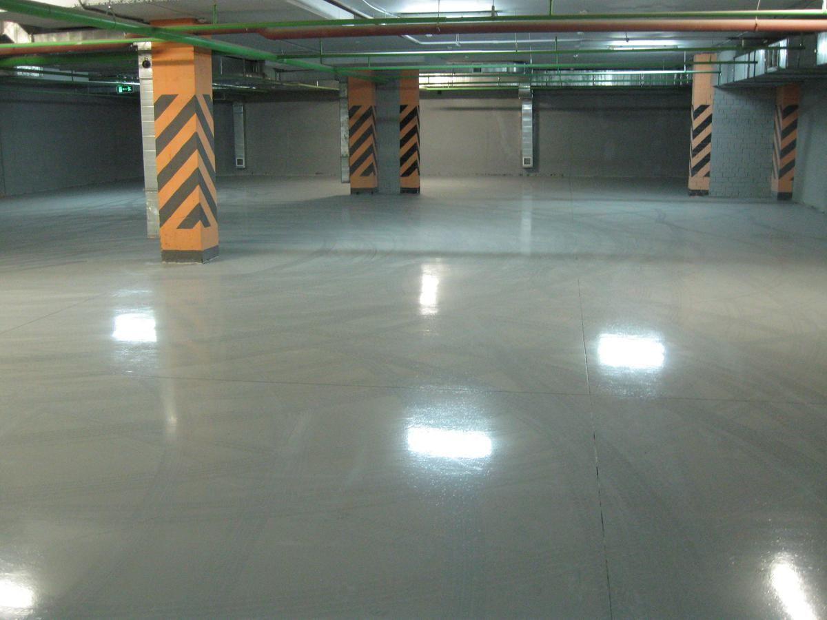 Наливной пол в гараже: преимущества и недостатки